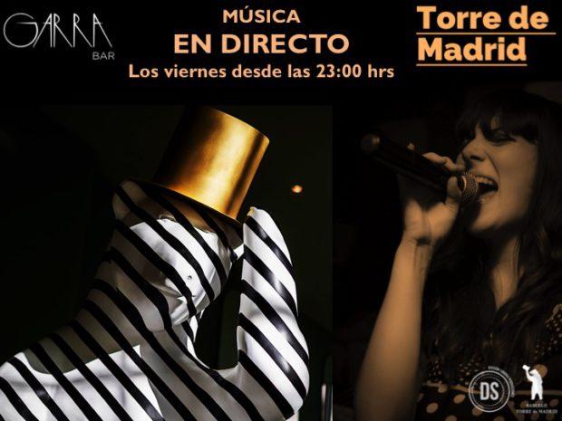 Música en directo todos los viernes @ GARRA bar (Hotel Torre de Madrid) | Madrid | Comunidad de Madrid | España