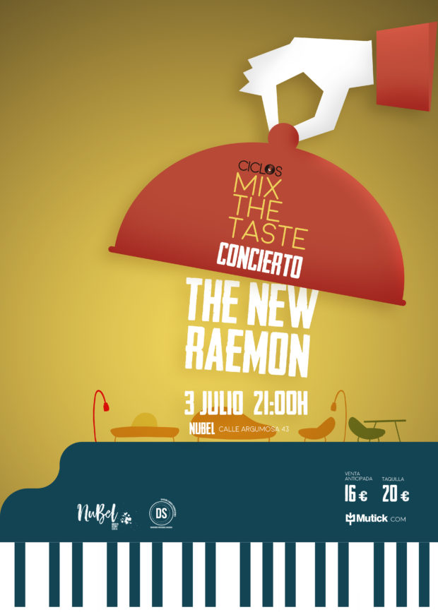 MIX THE TASTE con THE NEW RAEMON en Madrid - NuBel